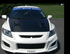 CR-Z - ZF1 - Sports Front Bumper - Construction: FRP - Colour: Unpainted - FEELS-APZF-SFBa