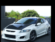 CR-Z - ZF1 - Sports Front Bumper - Construction: FRP - Colour: Unpainted - FEELS-APZF-SFBb