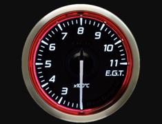 - Type: Exhaust Temperature - Color: Red - Diameter: 60mm - Range: 200-1100C - DF17003
