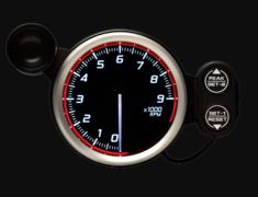 - Type: Tachometer - Color: Red - Diameter: 80mm - Range: 0 - 9,000RPM - DF17203