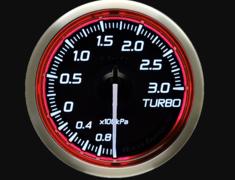 - Type: Turbo - Color: Red - Diameter: 52mm - Range: -100kPa to 300kPa - DF16103