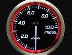 - Type: Pressure - Color: Red - Diameter: 52mm - Range: 0-1000kPa - DF16203
