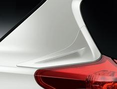Auris - NZE181H - Rear Quarter Panel Spoilers - Construction: PPE Resin - Colour: Unpainted - MS315-12002-00