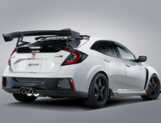 Civic Type R - FK8 - Material: Carbon - Weight: 5.5kg - 84112-FK8-000