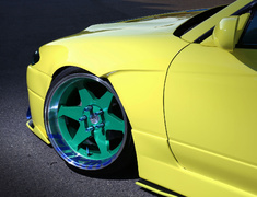Silvia - S15 - Front Wide Fenders - 326P-GBMS15-FWF