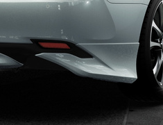Camry - AXVH70 - Rear Side Spoilers - Construction: PPE - Colour: Unpainted - MS343-33002-NP