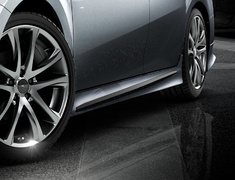 Camry - AXVH70 - Side Skirts - Construction: PPE - Colour: Unpainted - MS344-33002-NP