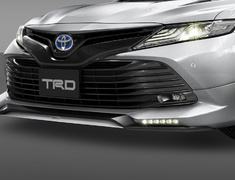 Camry - AXVH70 - Front Spoiler (with LED) - Construction: PPE - Colour: Attitude Black Mica (218) >>> C0 (Metallic Silver) - Colour: Platinum White Pearl Mica (089) >>>A1 (Black) - MS341-33001-##