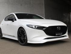 Mazda3 Fastback - BPFP - Front Lip Spoiler - Construction: Urethane - Colour: Unpainted - 20-3001