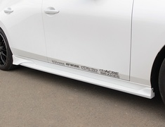 Mazda3 Fastback - BPFP - Side Steps - Construction: FRP - Colour: Unpainted - 20-3002