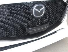 Mazda3 Fastback - BPFP - Number Plate Bracket - Construction: FRP - Colour: Unpainted - 20-3005