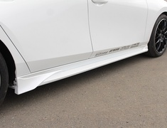 Mazda3 Fastback - BPFP - Side Steps - Construction: FRP - Colour: Unpainted - 20-3002