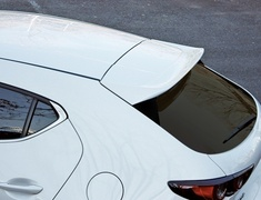 Mazda3 Fastback - BPFP - Rear Roof Spoiler - Construction: Urethane - Colour: Unpainted - 20-3003