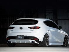 Mazda3 Fastback - BPFP - Rear Diffuser - Construction: FRP - Colour: Unpainted - 20-3004