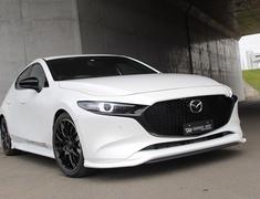 Mazda3 Fastback - BPFP - Front Splitter - Construction: Carbon (Twill) - 20-3007
