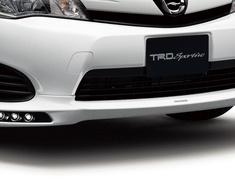 Corolla - NKE165 - Front Spoiler - Construction: PPE - Colour: White Pearl CS (070) - MS341-12032-A1