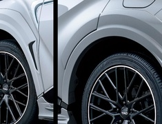 C-HR - ZYX11 - Over Fenders - Construction: Resin (ABS) - Colour: Black Mica (209)C0 - Colour: Metal Stream Metallic (1K0)B1 - Colour: White Pearl Crystal Shine (070)A0 - Colour: Yellow (5A3)F0 - MS315-10002-##