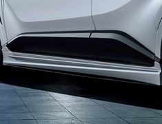 C-HR - ZYX11 - Side Skirts - Construction: Resin (PPE) - Colour: Black Mica (209)C0 - Colour: Metal Stream Metallic (1K0)B1 - Colour: White Pearl Crystal Shine (070)A0 - Colour: Yellow (5A3)F0 - MS344-10005-##