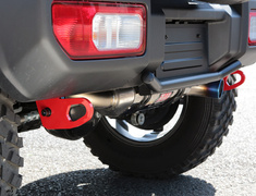 Jimny - JB64W - Location: Rear - Colour: Red - 3070-35