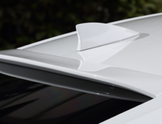 ES300h - AXZH10 - Rear Roof Spoiler - Construction: FRP - Colour: Unpainted - AS-SLBL-AXZH10-RSF