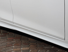 ES300h - AXZH10 - Side Under Spoilers - Construction: FRP - Colour: Unpainted - AS-SLBL-AXZH10-SUS