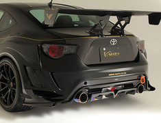 86 - ZN6 - Air Shroud for Rear Fenders - Construction: Carbon - VATO-071