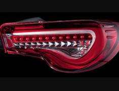 86 - ZN6 - Color: Half Red/Chrome - TT86Z-HC-2