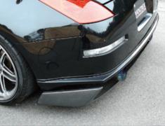 Fairlady Z - 350Z - Z33 - Rear Bumper Spoiler - Construction: FRP - Colour: Unpainted - Z3R-2