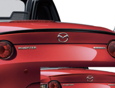 Roadster - ND5RC - MAZDASPEED Rear Spoiler - Category: Exterior - Colour: Brilliant Black - QND1-51-960-PZ