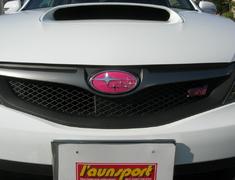 Impreza - GH7 - Type: Front - Colour: Pink - Size: 14.5cm x 7.2cm - EMBLEM6