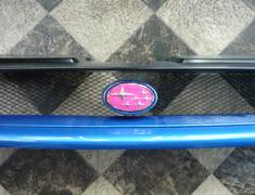 Impreza Sports Wagon WRX - GF8 - Type: Front - Colour: Pink - EMBLEM8