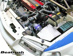 Lancer Evolution IV - CN9A - for use with Beatrush Air Cleaner Box (S93051CB) - Material: Aluminum - Diameter: 80mm - S93051SP