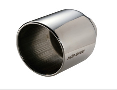 - VS Tail - Color: Mirror Finish - Diameter: 114.3mm - Pipe Diameter: 62mm - 62202