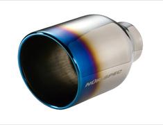- VSR Tail - Color: Titanium - Diameter: 108mm - Pipe Diameter: 52mm - 62206