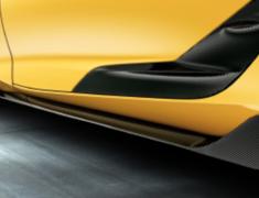 Supra A90 RZ - DB02 - GR Side Skirt - Construction: Carbon - MS344-14001