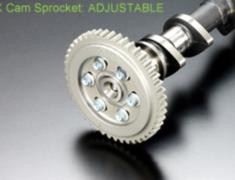 Swift Sport - ZC31S - Adjustable Exhaust Cam Sprocket - Intake: 14111-M16-001 246deg 9.5mm - Intake: 14111-M16-011 250deg 9.7mm - Intake: 14111-M16-021 256deg 9.7mm - Intake: 14111-M16-031 264deg 9.7mm - Exhaust: 14121-M16-001 242deg 8.9mm - Exhaust: 14121-M16-011 245deg 9.1mm - Exhaust: 14121-M16-G01 242deg 8.9mm - Exhaust: 14121-M16-G11 245deg 9.1mm - Exhaust: 14121-M16-G21 256deg 9.1mm - M16A-ADJ