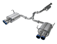 WRX STI - VAB - Material: Titanium - Pieces: 4 - Pipe Size: 74.7 - 2x60.5mm - Tail Size: 4x 54mm - Weight: 13.4kg - 31029-AF013V