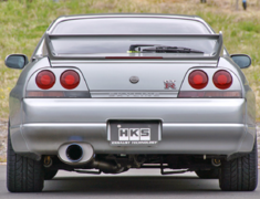 Skyline GT-R - BCNR33 - Material: Titanium - Pieces: 2 - Pipe Size: 85mm - Tail Size: 124mm - 31029-AN008