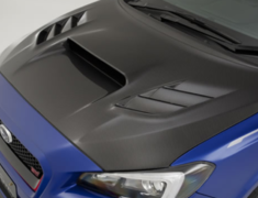 WRX S4 - VAG - Cooling B/Hood with duct cover & aluminium net - Construction: Carbon - VBSU-131