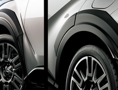 C-HR - NGX10 - Over Fenders - Construction: Resin (AEPDS) - Colour: Texture - MS315-10004