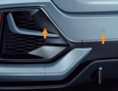 Civic - FK7 - Rear Corner Parking Sensor (4 Corner Senor System) - Category: Electrical - 08V67-E8M-0D1K