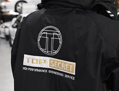 Top Secret - TS Cold Protection Half Coat TS Emblem Logo