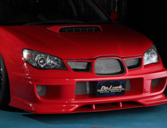 Impreza WRX - GDA - Front Bumper Spoiler - Construction: FRP - Colour: Unpainted - DLAP-GD-FBS-FG
