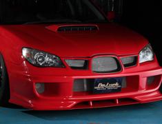 Impreza WRX - GDA - Front Bumper Spoiler + Carbon Grill - Construction: FRP/Carbon - Colour: Unpainted - DLAP-GD-FBS-FGCG