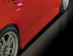 Impreza WRX - GDA - Side Steps - Construction: FRP - Colour: Unpainted - DLAP-GDC-SS