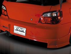 Impreza WRX - GDA - Rear Half Spoiler - Construction: FRP - Colour: Unpainted - DLAP-GDC-RHS