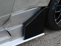 180SX - RS13 - Side Canards - Construction: FRP - Colour: Unpainted - D-182-SET
