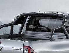 Hilux - GUN125 - Sports Bar - Construction: Aluminum/Steel - Colour: Matte Black - MS325-0K002