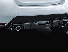 GR Yaris RC - GXPA16 - GR Sports Muffler - Construction: Stainless Steel - MS153-52014