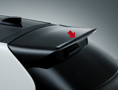 GR Yaris RC - GXPA16 - GR Front Spoiler (with Rear Wing Extension) - Construction: Resin (PPE) - Colour: Black (212) - MS341-52032